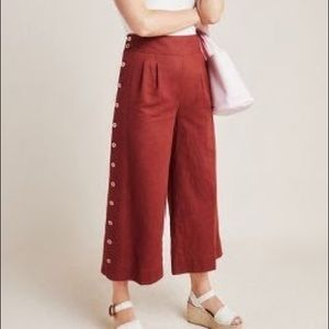 NWT Anthropologie Wide-Leg Pants